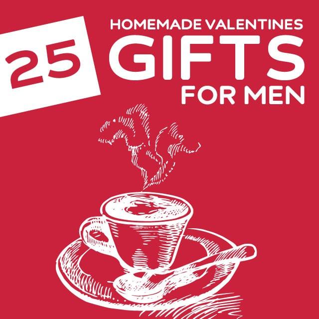 Valentines Gift For Guys Ideas  25 Homemade Valentine s Day Gifts for Men Dodo Burd