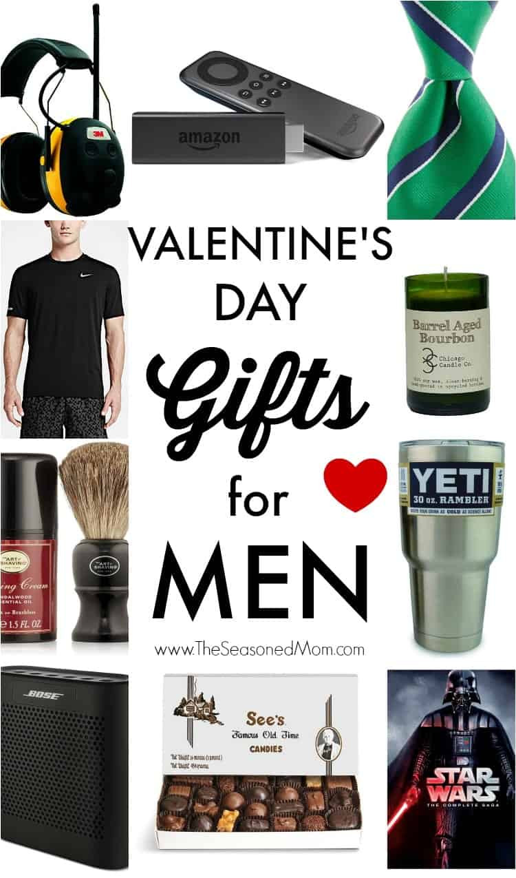 Valentines Gift For Guys Ideas  Valentine s Day Gifts for Men The Seasoned Mom