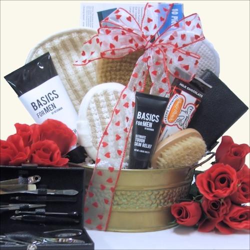 Valentines Gift Ideas For Guys  Men Valentine Gift Baskets for Him Valentine Gift Ideas