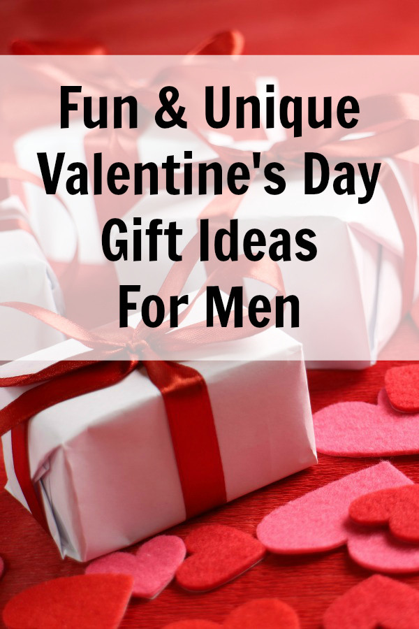 Valentines Gift Ideas For Guys  Unique Valentine Gift Ideas for Men Everyday Savvy
