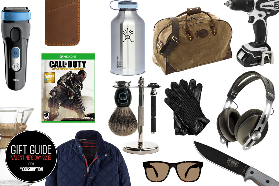 Valentines Gift Ideas For Guys  Men s Wishlist 35 Valentine s Day Gifts for Him