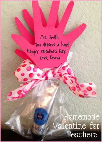 Valentines Gift Ideas For Teachers  10 DIY Valentine s Day Gifts for Teachers that Kids can Make