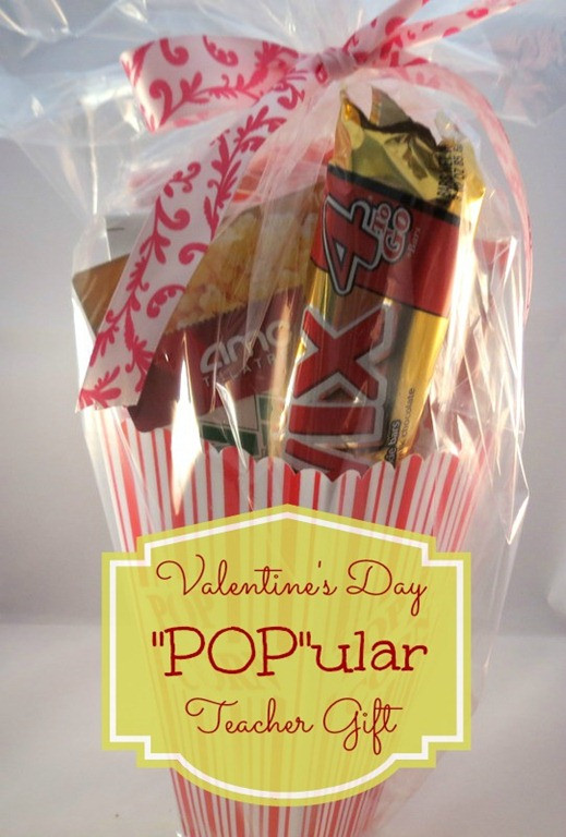 "Valentines Gift Ideas For Teachers  ""POP"" ular Teacher Valentine Gift The Taylor House"
