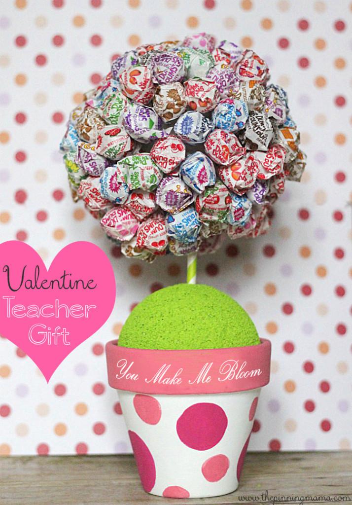 Valentines Gift Ideas For Teachers  Easy Homemade Teacher Appreciation Craft Ideas