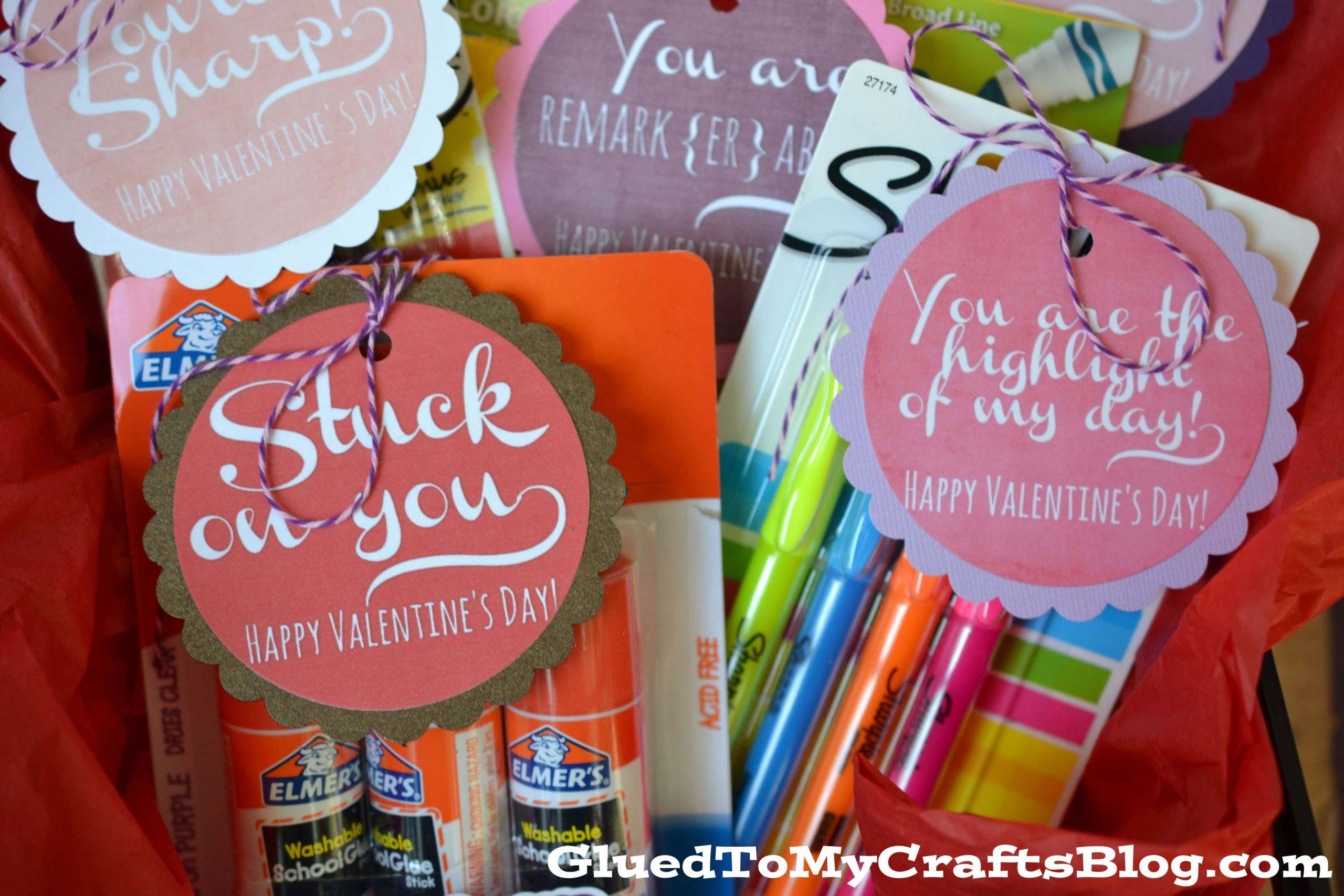 Valentines Gift Ideas For Teachers  Valentine Teacher Gift Idea Free Printable