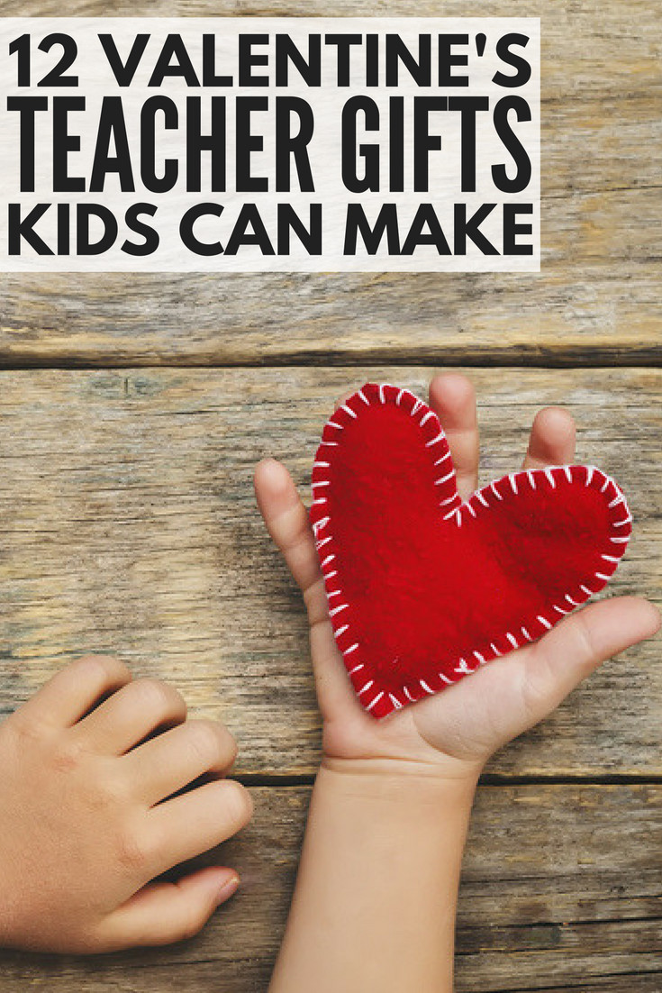 Valentines Gift Ideas For Teachers  9 adorable DIY Valentine s Day teacher ts kids can make
