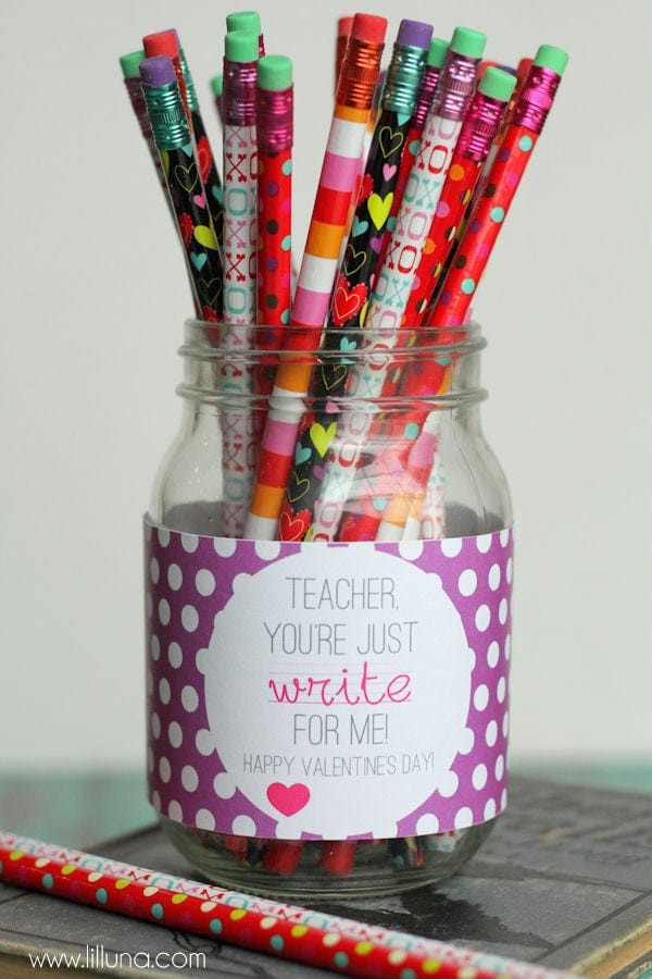 Valentines Gift Ideas For Teachers  Valentines Teacher Gift
