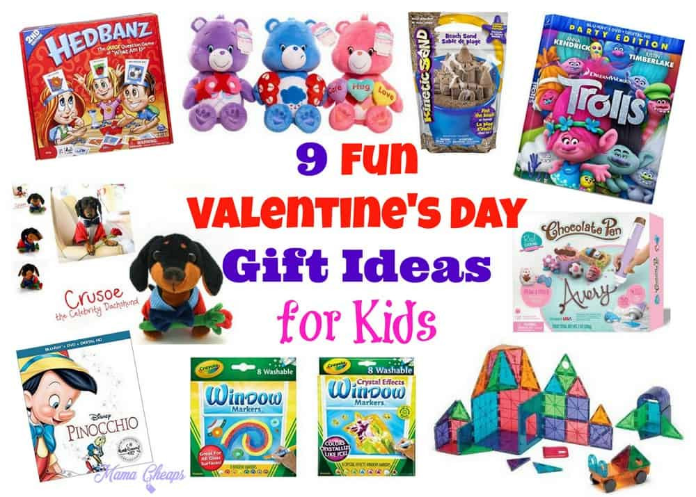 Valentines Gift Ideas For Toddlers  9 Fun Valentine s Day Gift Ideas for Kids