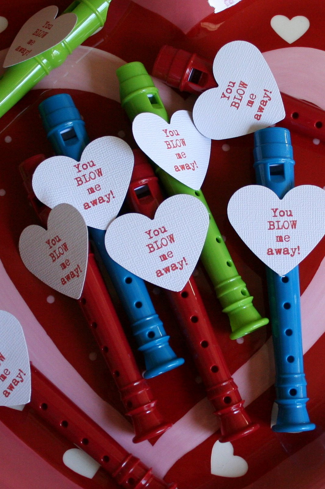 Valentines Gift Ideas For Toddlers  Blow Me Away Whistle Valentine Dukes and Duchesses