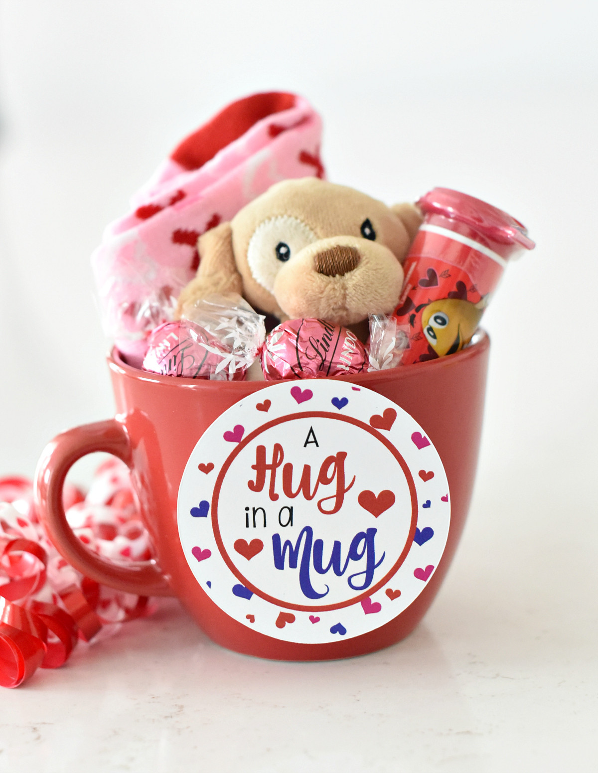 Valentines Gift Ideas For Toddlers  Cute Valentine s Day Gift Idea RED iculous Basket