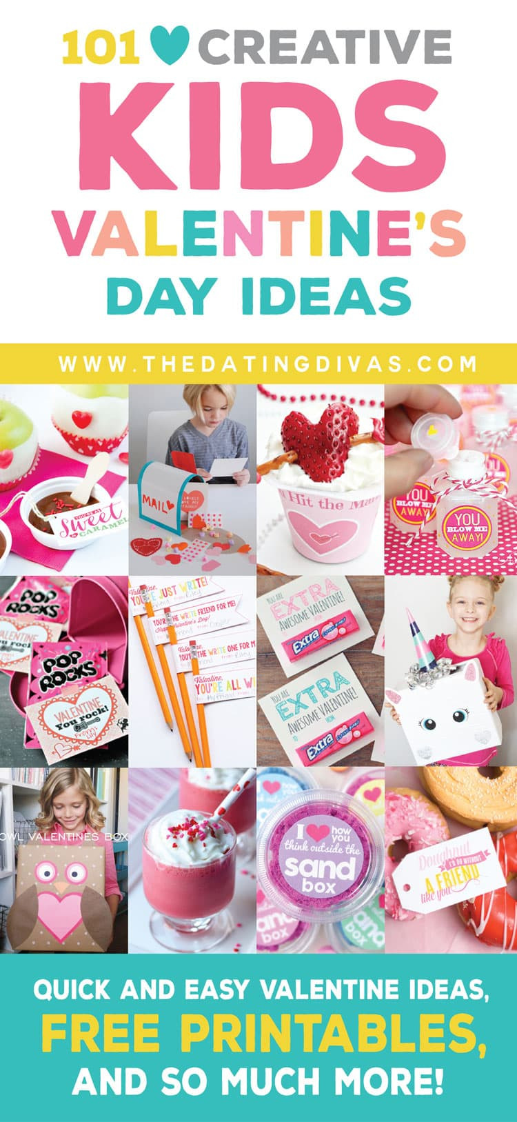 Valentines Gift Ideas For Toddlers  100 Kids Valentine s Day Ideas Treats Gifts & More
