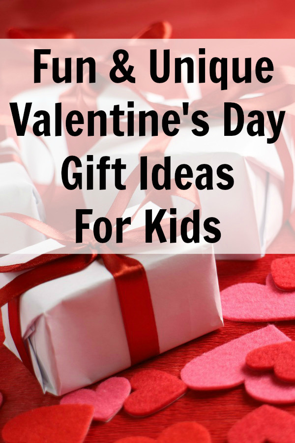 Valentines Gift Ideas For Toddlers  Fun & Unique Valentine s Day Gift Ideas for Kids