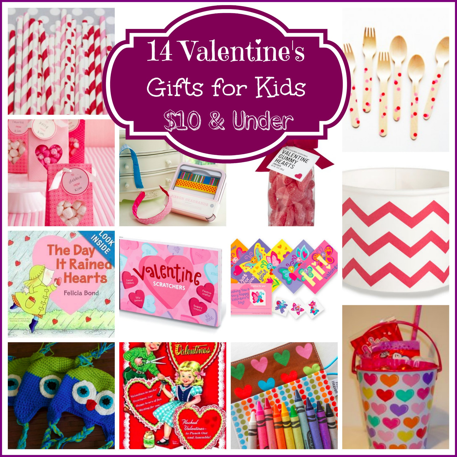 Valentines Gift Ideas For Toddlers  14 Valentine's Day Gifts for Kids $10 & Under