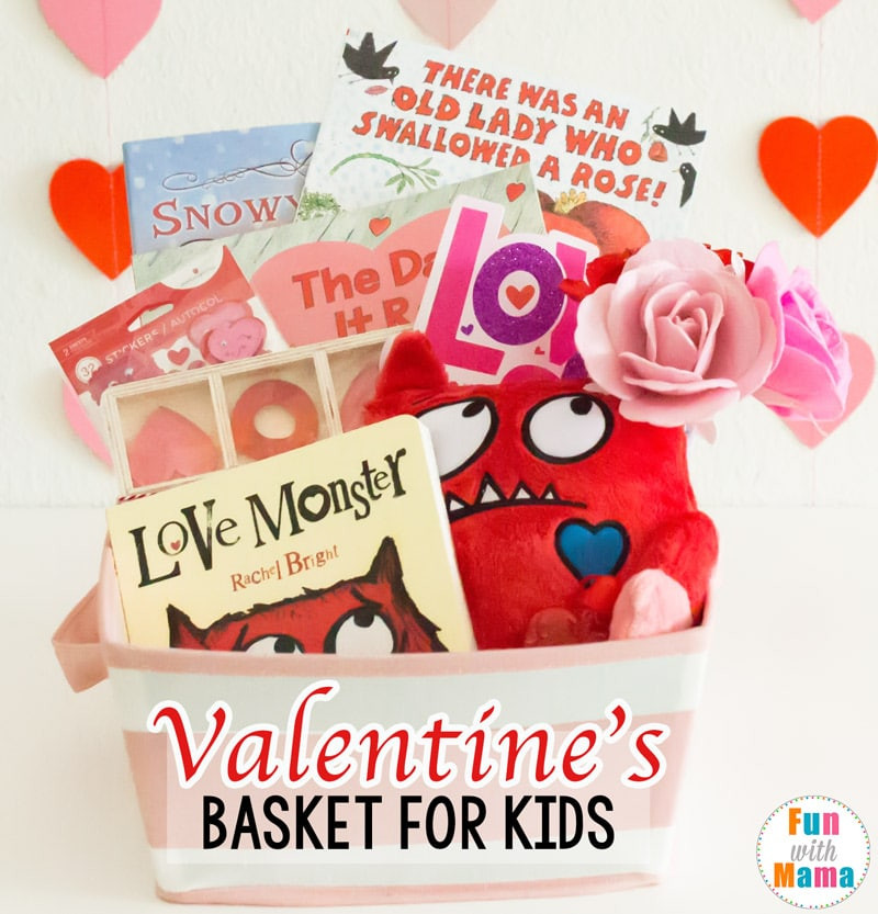 Valentines Gift Ideas For Toddlers  Valentines Basket Valentine s Gifts For Kids Fun with Mama