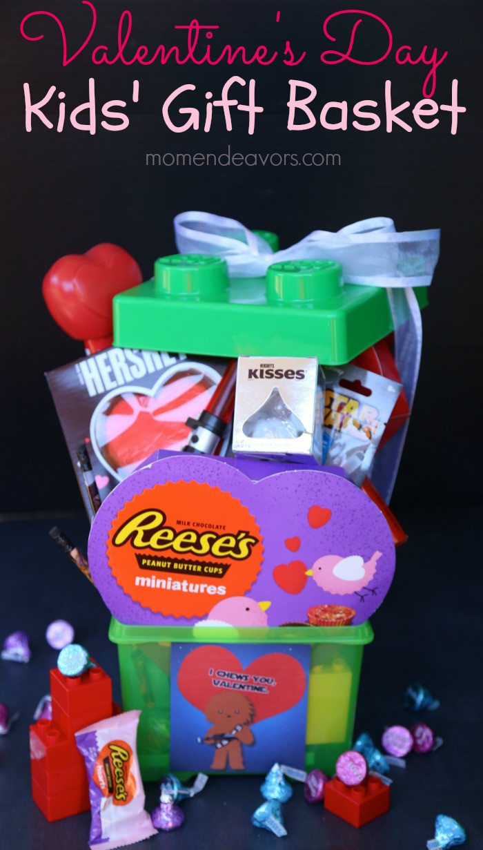 Valentines Gift Ideas For Toddlers  Fun Valentine's Day Gift Basket for Kids