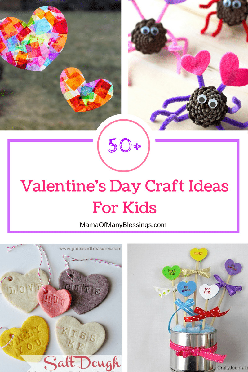 Valentines Gift Ideas For Toddlers  50 Awesome Quick and Easy Kids Craft Ideas for