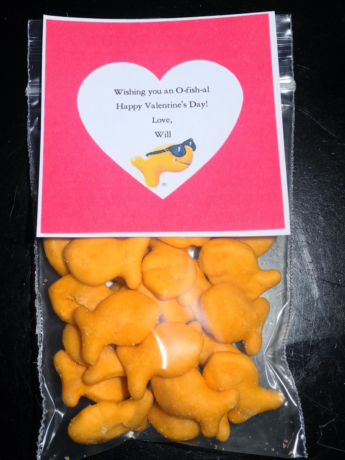 Valentines Gift Ideas For Toddlers  Be Different Act Normal 8 Goldfish Cracker Valentine Ideas
