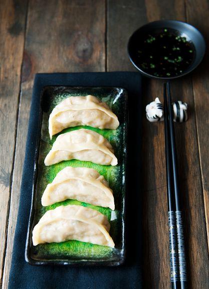 Vegetarian Chinese Dumplings Recipe  Vegan Potsticker Dumplings