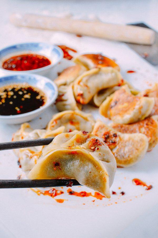 Vegetarian Chinese Dumplings Recipe  Ve able Dumplings A Healthy Potsticker