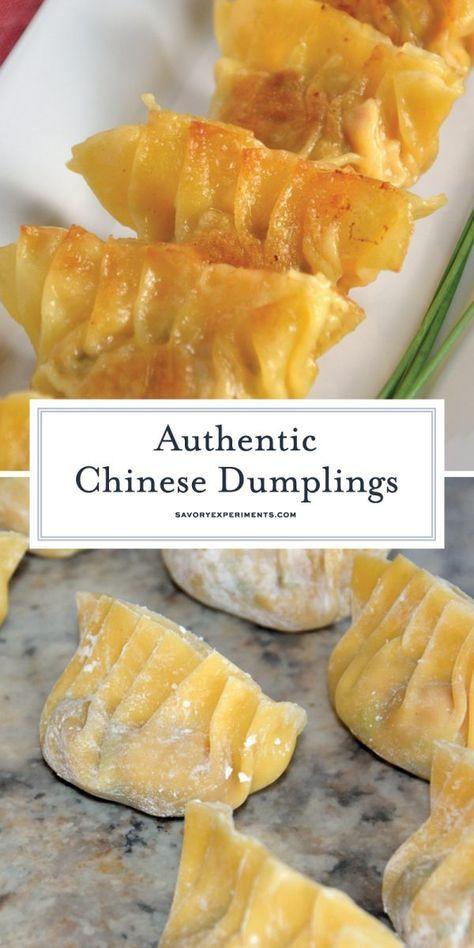 Vegetarian Chinese Dumplings Recipe  Authentic Chinese Dumplings is a recipe straight from a