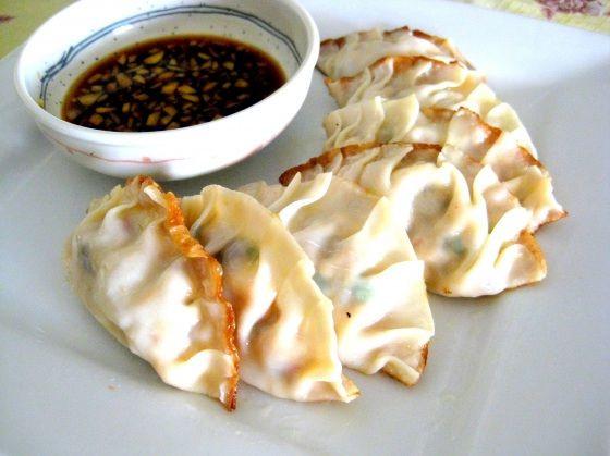 Vegetarian Chinese Dumplings Recipe  Pan Fried Ve arian Dumplings Potstickers