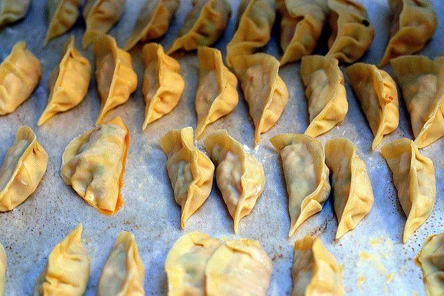 Vegetarian Chinese Dumplings Recipe  ve able dumplings