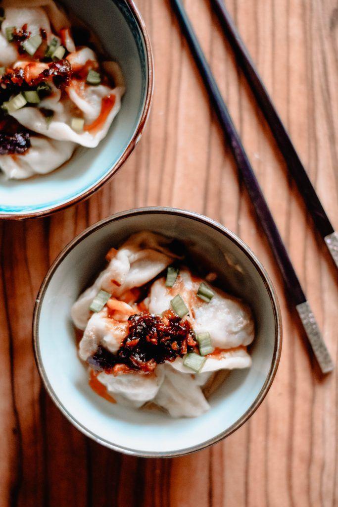 Vegetarian Chinese Dumplings Recipe  2 Vegan Dumpling Recipes With images