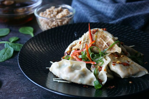 Vegetarian Chinese Dumplings Recipe  Ve arian Chinese Dumplings