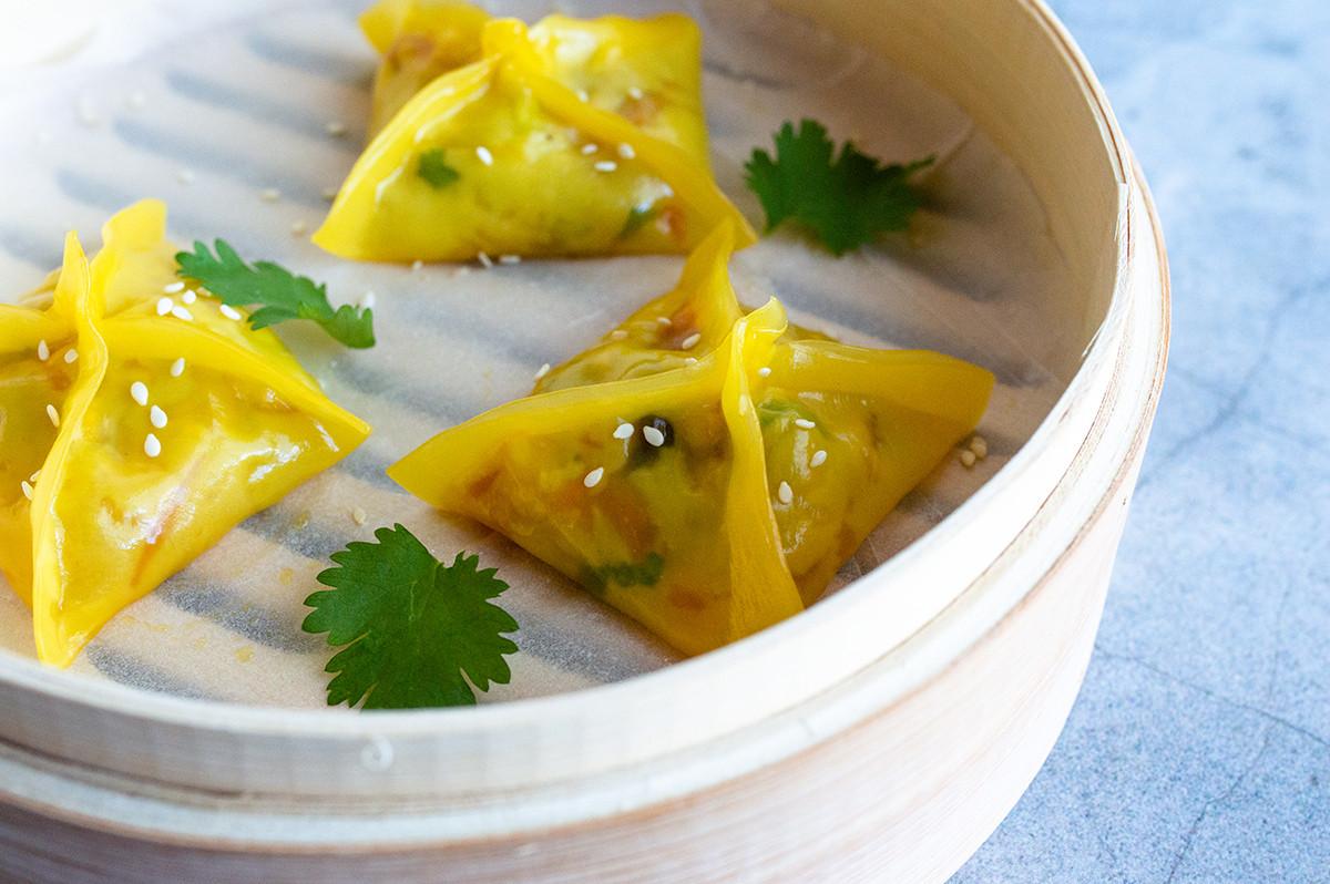 Vegetarian Chinese Dumplings Recipe  Chinese Ve arian Dumplings