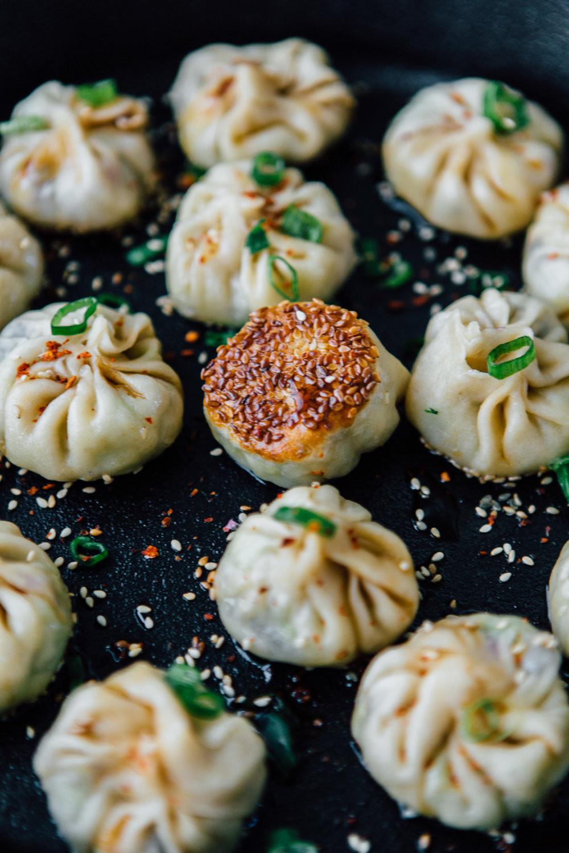 Vegetarian Chinese Dumplings Recipe  Homemade Vegan Dumplings Potstickers