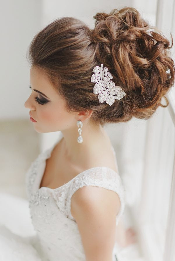 Wedding Bridal Hairstyles  The Most Beautiful Wedding Hairstyles To Inspire You