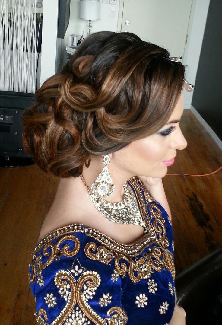 Wedding Bridal Hairstyles  Latest Pakistani Bridal Wedding Hairstyles Trends 2018