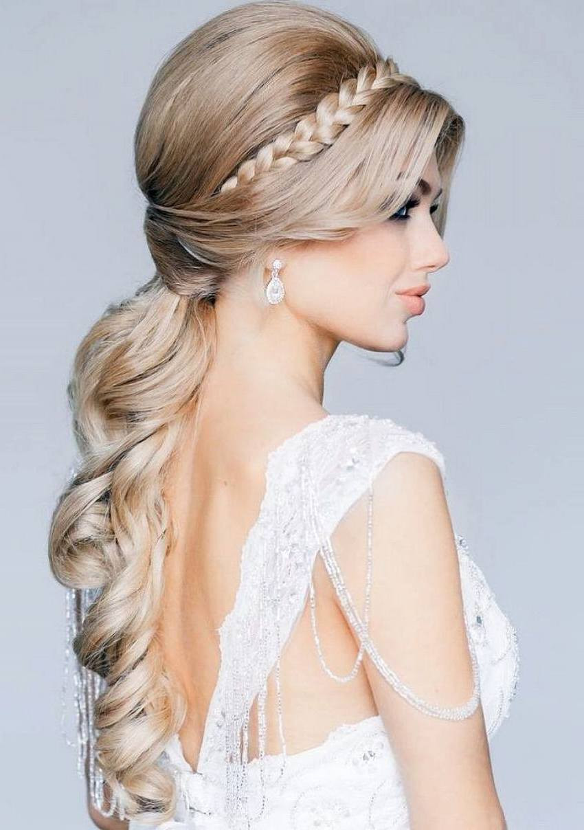 Wedding Bridal Hairstyles  Hairstyles For Weddings For Romantic Bridal Looks The Xerxes