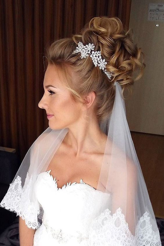 Wedding Hair Styles With Veil  Wedding hairstyles 2018 with veil