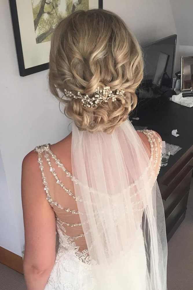 Wedding Hair Styles With Veil  36 Wedding Hairstyles With Veil – My Stylish Zoo