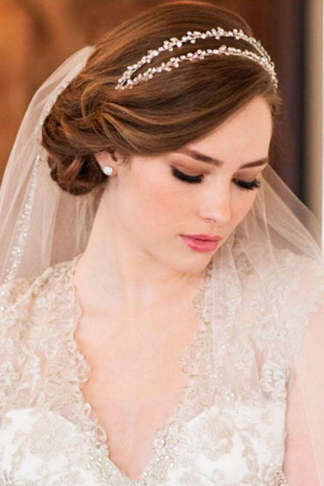 Wedding Hair Styles With Veil  Veil Wedding Hair