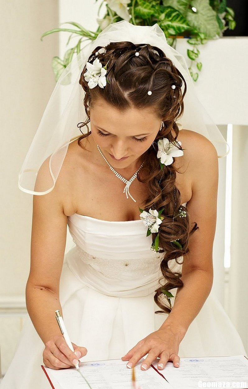 Wedding Hair Styles With Veil  Wedding Hairstyles For Long Hair s