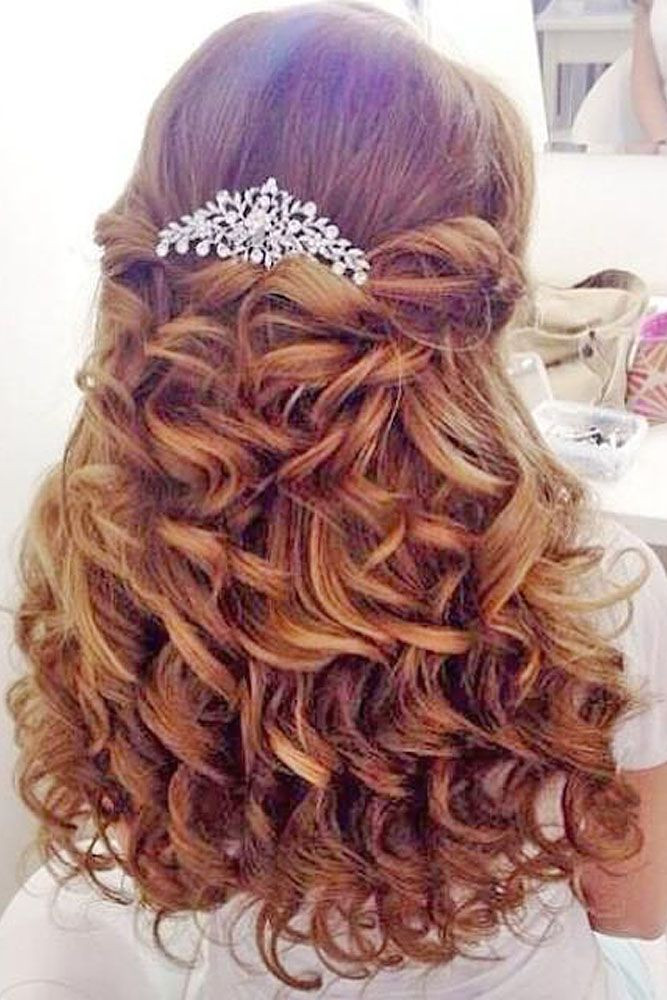 Wedding Hairstyles For Children  39 Cute Flower Girl Hairstyles 2020 Update