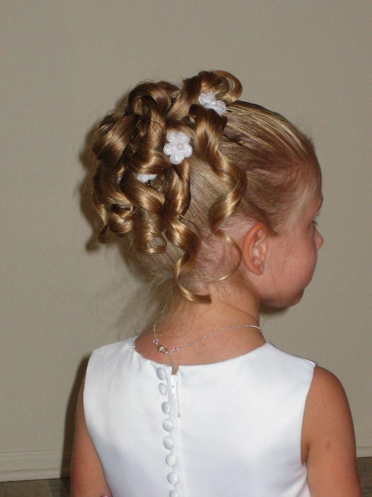 Wedding Hairstyles For Children  20 Wedding Hairstyles For Kids Ideas Wohh Wedding