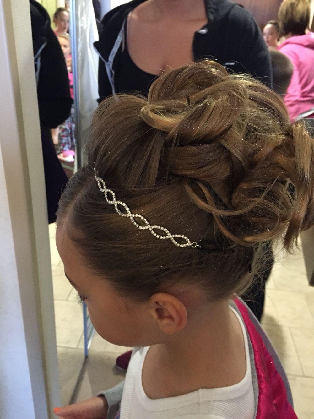 Wedding Hairstyles For Children  Childs updo Hair I ve perfected