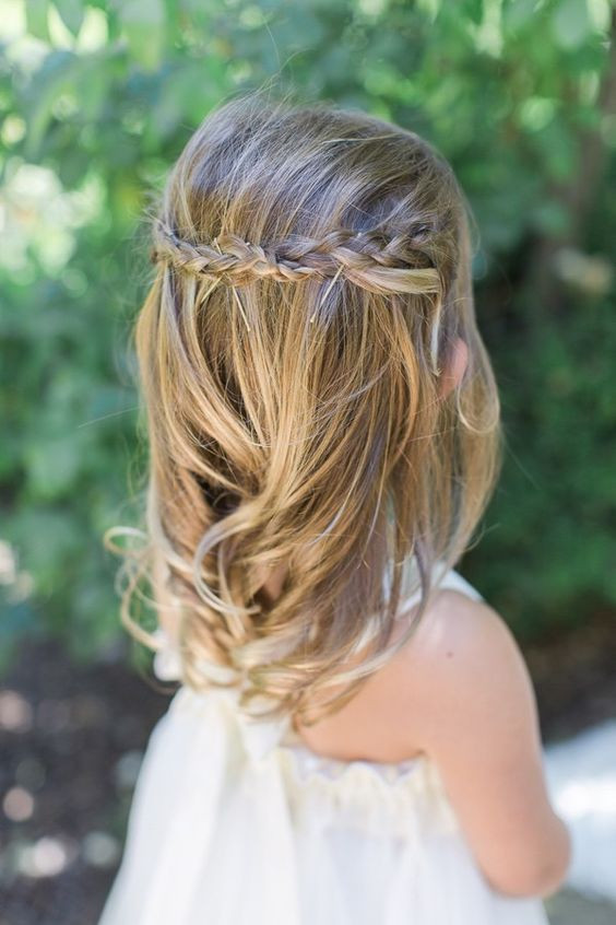 Wedding Hairstyles For Children  Latest Trend Wedding Hairstyle 2016 For Kids 4