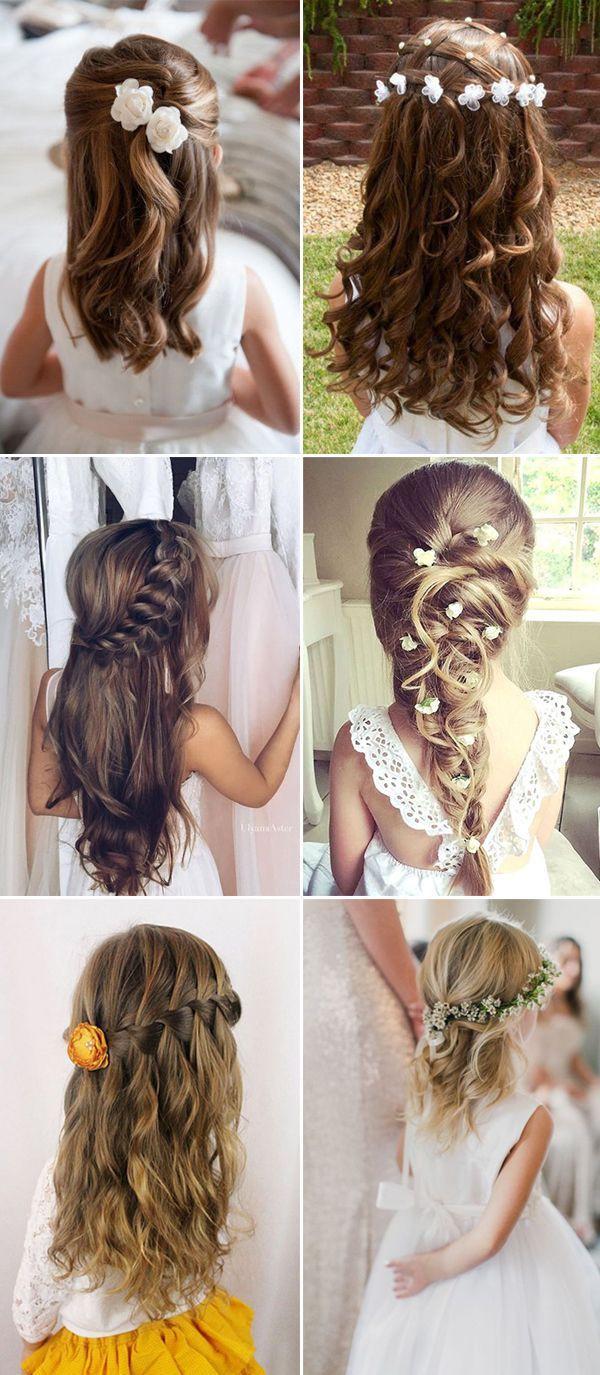 Wedding Hairstyles For Children  The 25 best Kids updo hairstyles ideas on Pinterest