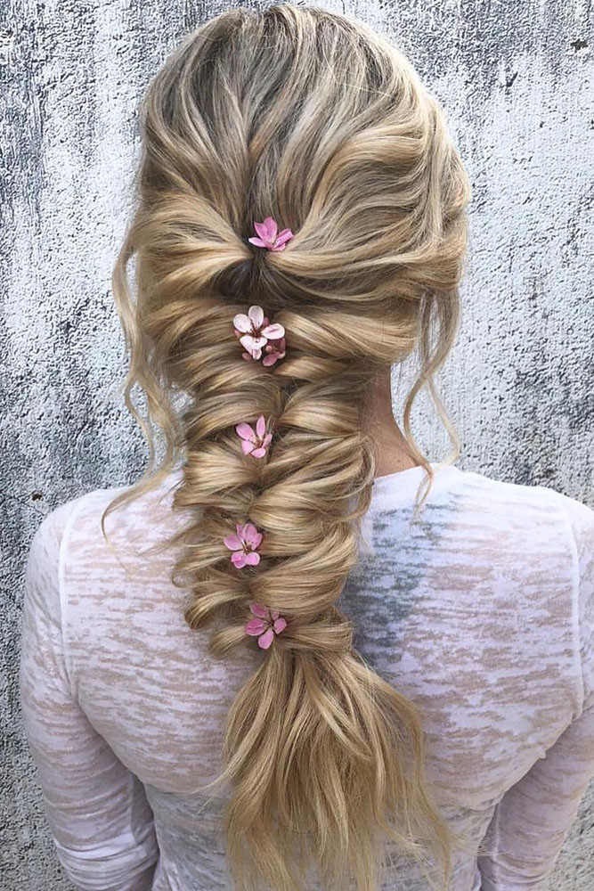 Wedding Hairstyles With Braids For Long Hair  40 BEST WEDDING HAIRSTYLES FOR LONG HAIR 2018 19 – My