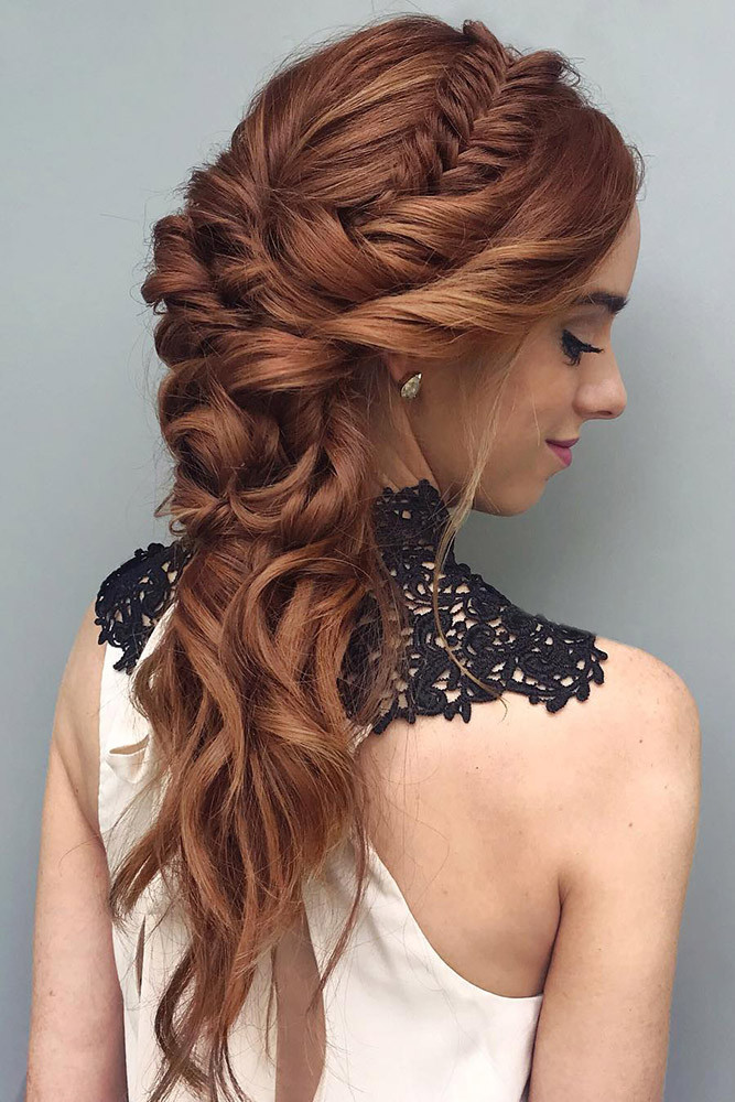 Wedding Hairstyles With Braids For Long Hair  35 BRAIDED WEDDING HAIR IDEAS YOU WILL LOVE My Stylish Zoo