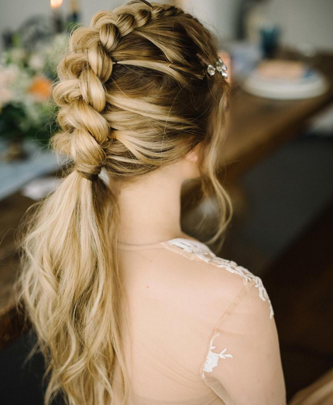 Wedding Hairstyles With Braids For Long Hair  10 Braided Hairstyles for Long Hair Weddings Festivals