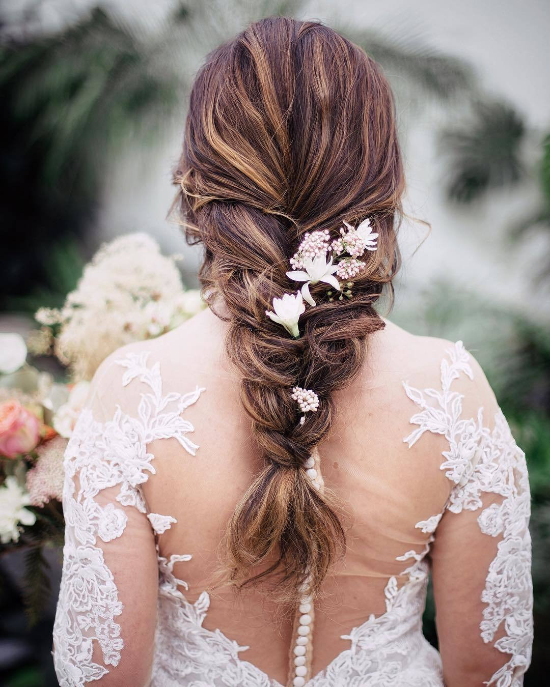 Wedding Hairstyles With Braids For Long Hair  47 Stunning Wedding Hairstyles All Brides Will Love in 2019