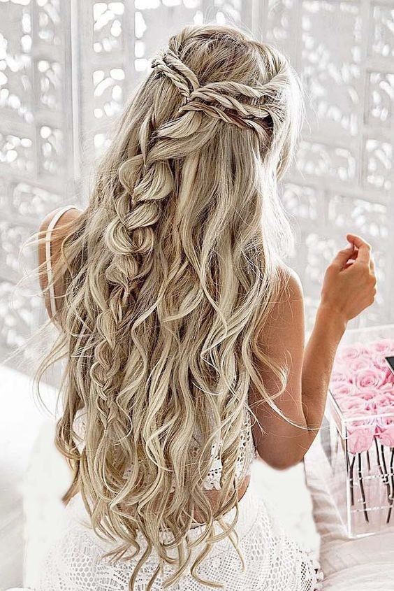 Wedding Hairstyles With Braids For Long Hair  10 Pretty Braided Hairstyles for Wedding Wedding Hair