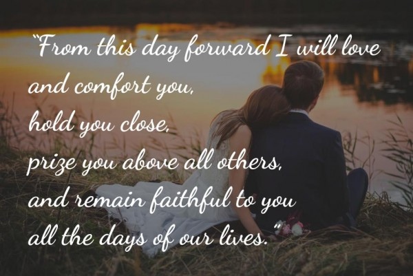 Wedding Vow Quotes  Heart Warming Quotes to Inspire Your Wedding Vows