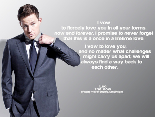 Wedding Vow Quotes  Quotes From Movie Wedding Vows QuotesGram