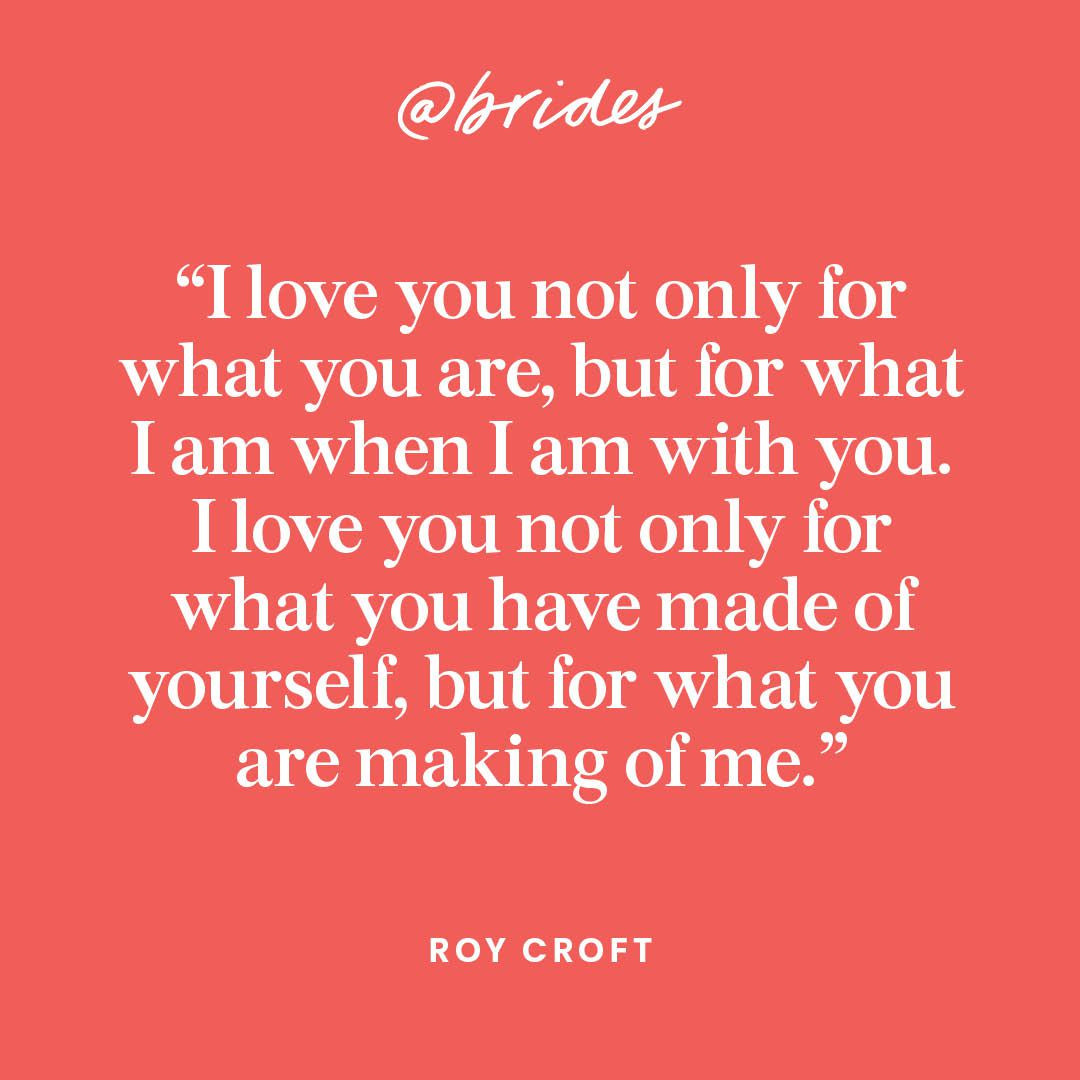 Wedding Vow Quotes  23 Impossibly Romantic Quotes to Incorporate Into Your